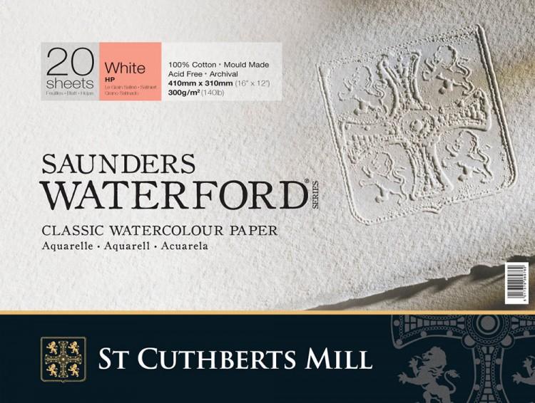 Saunders Waterford : Watercolor Paper Blocks : 300gsm