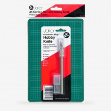 Jakar : A5 Cutting Mat With Hobby Knife : Plus Pack of 5 Blades