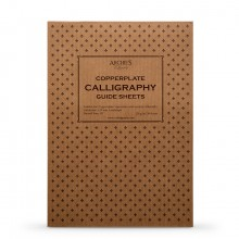 Archie's Calligraphy : 1.25mm Copperplate Spencerian - A4 Paper Pad (Landscape)