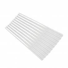 Jackson's : Transparent Plastic Brush Head Protector : 8.6x250mm : Pack of 10