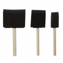 Jakar : Sponge Brushes : Pack of 3