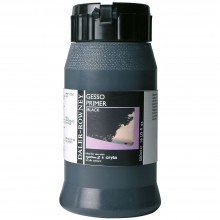 Daler Rowney : Acrylic Medium : Gesso Primer : 500ml : Black