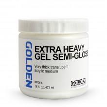 Golden : Extra Heavy Gel : Semi Gloss : 473ml