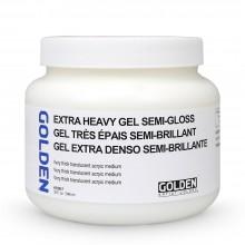 Golden : Extra Heavy Gel : Semi Gloss : 946ml