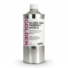 Golden : MSA (Mineral Spirit Acrylic) Varnish : Gloss : 946ml