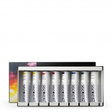 Golden : Heavy Body : Acrylic Paint : 59ml : Colour Mixing Classic Theory Set of 8