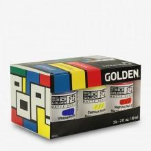 Golden : SoFlat : Matte Acrylic Paint : 59ml : Pop Set of 6