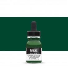 Liquitex : Professional : Acrylic Ink : 30ml : Phthalocyanine Green (Yellow Shade)