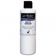 Atelier : Acrylic Medium : 250ml : Matte Medium