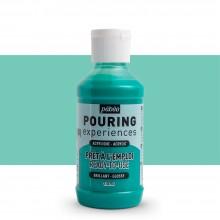 Pebeo : Pouring Experiences : Acrylic Paint :  118ml : Aqua Green