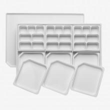 Studio Essentials : Multi Piece Mega Palette with Clip Lock Lid