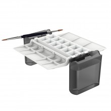 Portable Painter : Hands-Free Watercolor Palette : Black