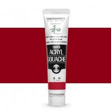Turner : Acrylic Gouache Paint : Japanesque Texture : 20ml : Japanesque Red 322