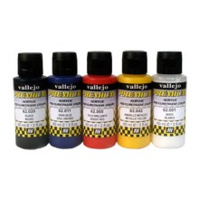 Vallejo : Premium Airbrush Paint : Set of 5 : Opaque Colors