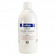 Vallejo : Acrylic Quick Drying Gloss Varnish : 500ml