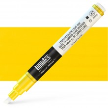 Liquitex : Professional : Marker : 2-4mm Chisel Nib : Cadmium Yellow Light Hue