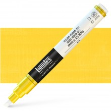 Liquitex : Professional : Marker : 2-4mm Chisel Nib : Yellow Medium Azo