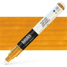 Liquitex : Professional : Marker : 2-4mm Chisel Nib : Yellow Oxide