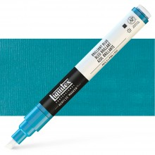 Liquitex : Professional : Marker : 2-4mm Chisel Nib : Brilliant Blue