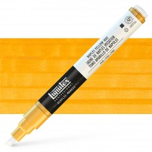 Liquitex : Professional : Marker : 2-4mm Chisel Nib : Naples Yellow Hue