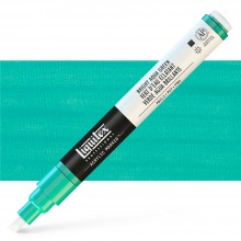 Liquitex : Professional : Marker : 2-4mm Chisel Nib : Bright Aqua Green