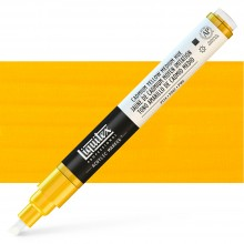 Liquitex : Professional : Marker : 2-4mm Chisel Nib : Cadmium Yellow Medium Hue