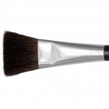 Isabey : Pure Squirrel Flat Wash Size 8 : 7/8 in wide at ferrule