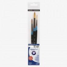 Daler Rowney : Aquafine Watercolor Paint : Wallet Set : 301