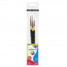 Daler Rowney : System 3 : Acrylic Paint Wallet Set : 301