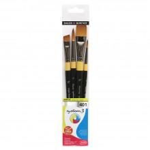 Daler Rowney : System 3 : Acrylic Paint Wallet Set : 401