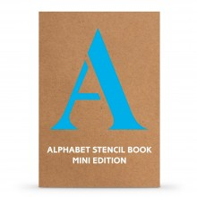 Alphabet Stencil Book Mini