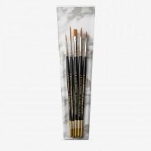 Pro Arte : Prolene : Brush Wallet Set : 5 Brushes