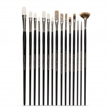 Rosemary & Co : Alla Prima Oil Brush : Set of 15