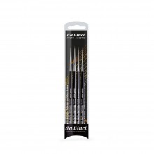 Da Vinci : Micro Maestro : Kolinsky Red Sable Brush : Series 100 : Set of 4