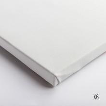 Belle Arti : Linen 62/574 : Universal Primed Extra Fine Grain : 50x60cm : Box of 6