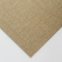 Jackson's : Handmade Board : Clear Glue Sized Fine Linen CL696 on MDF Board : 13x18cm