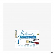 Multimedia Artboard : Artist Panel : 0.8 mm : 5 Pack : 12x12in : White