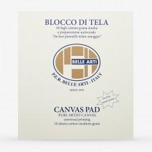 Belle Arti : 40x40cm Belle Arti Canvas Pad