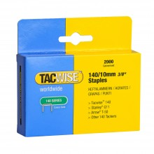 Tacwise : 140 Staples : 10mm : Box of 2000