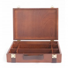 Cappelletto : CA-7 VE : Lacquered Walnut Beechwood Color Box : 23x33cm