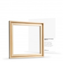 Jackson's : Ready-Made Lime Wood Frame for Panels 6x8in : 7mm Rebate : 9mm Face