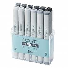 Copic : Marker Set : Cool Grey : Set of 12