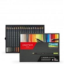 Caran d'Ache : Museum Aquarelle : Box Set of 20 Landscape Colours