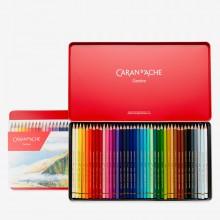 Caran d'Ache : Pablo Colored Pencil : Set of 40