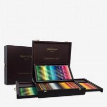 Caran d'Ache : Pablo and Supracolor Soft : Pencil : Wooden Box : Set of 160