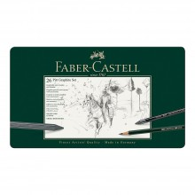 Faber Castell : Pitt : Graphite : Set of 26