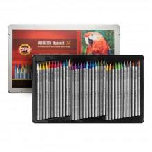 Koh-I-Noor : Progresso : Woodless Watercolor Pencils : Tin Set of 36
