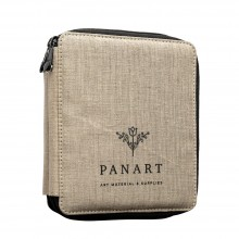 Panart : Linen Pencil Case : Holds 72 Pencils