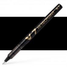 Pilot : V7 Liquid Ink Rollerball Medium Line : Black