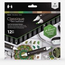Spectrum Noir : Classique Marker : Nature Set of 12